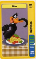 Trading Card Carte Auchan La Fete Du Sport 2014 Verso Domino Tex Avery N° 98 - Trading Cards