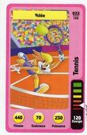 Trading Card Carte Auchan La Fete Du Sport 2014 Verso Domino Tex Avery N° 22 - Trading Cards