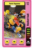 Trading Card Carte Auchan La Fete Du Sport 2014 Verso Domino Tex Avery N° 17 - Non Classificati