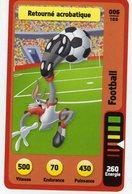 Trading Card Carte Auchan La Fete Du Sport 2014 Verso Domino Tex Avery N° 6 - Non Classificati