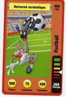 Trading Card Carte Auchan La Fete Du Sport 2014 Verso Domino Tex Avery N° 6 - Trading Cards