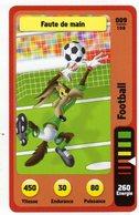 Trading Card Carte Auchan La Fete Du Sport 2014 Verso Domino Tex Avery N° 9 - Trading Cards