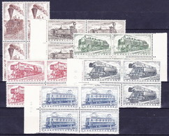 ** Tchécoslovaquie 1956 Mi 988-93 (Yv 875-80) Blocs De 4, (MNH) - Tschechoslowakei/CSSR