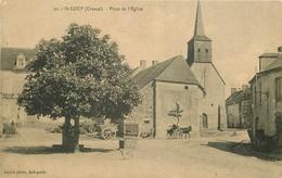 WW 23 SAINT-LOUP. La Mairie 1924 - Francia