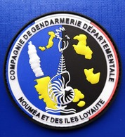 ECUSSON PATCH GENDARMERIE CALEDONIE ILES LOYAUTES - Police & Gendarmerie