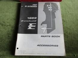 Evinrude Outboard Parts Book Accessories 1969 - Schiffe