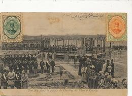 Une Fete Dans  Palais De L' Heritier Du Trone à Tauriz Tabriz  P. Used Esperanto To Santa Clara Cuba Edit Kachani Perse - Iran