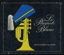 Rare // Etiquette De Vin // Musique // Le Plumet Blanc - Musique