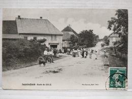 Tassenières. Route De Dole. Animée. Boulangerie - Autres Communes