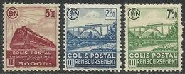 France - Colis Postaux - N° 188A à 190A Neufs Avec Charnière. - Colis Postaux
