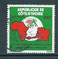 1984 Ivoorkust Africa Cup Used/gebruikt/oblitere - Ivoorkust (1960-...)