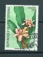 1983 Ivoorkust Flowers,blümen,bloemen Used/gebruikt/oblitere - Ivoorkust (1960-...)