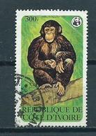 1979 Ivoorkust Chimpansee Used/gebruikt/oblitere - Côte D'Ivoire (1960-...)