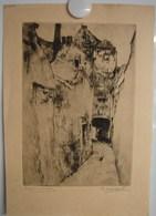 Lot. 1010. Estampe De Désiré Naeyaert. Impsse De Varsovie, Rue Haute à Bruxelles - Prints & Engravings