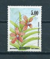 1984 Sri Lanka Plants,flowers Used/gebruikt/oblitere - Sri Lanka (Ceylon) (1948-...)