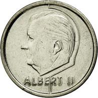 Monnaie, Belgique, Albert II, Franc, 1995, Bruxelles, TTB, Nickel Plated Iron - 02. 1 Franc