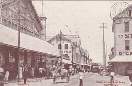 British Guiana  GEORGETOWN Water Street New Vtown  Bg337 - Postkaarten