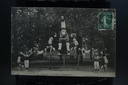 Lot 2 CPA 49 Angers Pyramide Humaine Fête De Gymnastique L'espoir La Madeleine - Angers