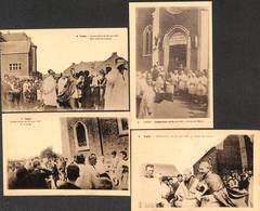 Ciplet - Lot 4 Cartes Consécration Du 30 Août 1927 (top Animation, Eglise,  Peu Vue) - Braives