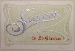Souvenir De Saint-Ghislain Carte Fantaisie - Saint-Ghislain