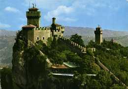 REPUBLICA DI SAN MARINO  Deuxieme Et Troisieme Tour RV  Beaux Timbres (Champignons) - San Marino