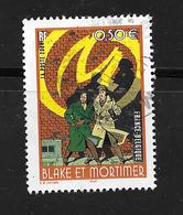 "FRANCE 3669 Bande Dessinée -Black Et Mortimer "" La Marque Jaune""- Edgar-Pierre Jacobs - France"