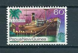 1976 Papua New Guinea Ship,schip,schiff Used/gebruikt/oblitere - Papoea-Nieuw-Guinea