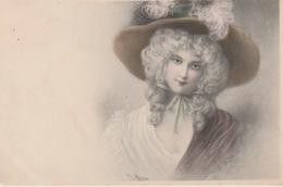 19 / 1 / 218. -  CPA    M. M. VIENNE - JEUNE  FEMME. ( SIGNÉ  WICHERA ) - Wichera