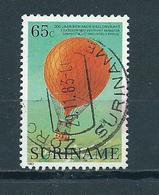 1983 Suriname 65 Cent Balloon Used/gebruikt/oblitere - Suriname
