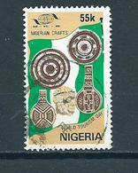 1985 Nigeria Tourism Day Used/gebruikt/oblitere - Nigeria (1961-...)