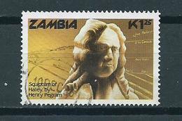 1986 Zambia Halley's Comet Used/gebruikt/oblitere - Zambia (1965-...)