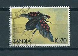 1986 Zambia Insects Used/gebruikt/oblitere - Zambia (1965-...)