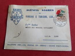 Carte Postale Agência Sagres De Viagens E Turismo,Lda - Bissau - Guiné Portuguesa - Guinea-Bissau