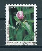 1986 Ivoorkust Plants,flowers Used/gebruikt/oblitere - Ivoorkust (1960-...)