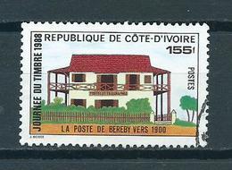 1988 Ivoorkust Stamp Day Used/gebruikt/oblitere - Ivoorkust (1960-...)