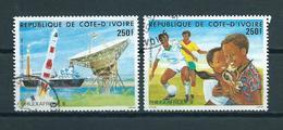 1985 Ivoorkust Complete Set Philexfrance Used/gebruikt/oblitere - Ivoorkust (1960-...)