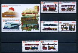 Cuba 2011 / Railways Trains MNH Trenes Züge / Cu11125  29 - Trenes
