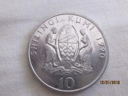 Tanzania: 10 Shillings 1990 - Tanzanie