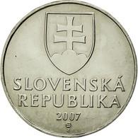 Monnaie, Slovaquie, 2 Koruna, 2007, SUP, Nickel Plated Steel, KM:13 - Slovaquie