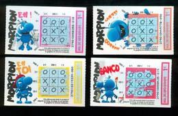 Grattage FDJ - FRANCAISE DES JEUX - Série Complète MORPION 37901 - Tickets Gagnants - Billets De Loterie