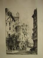 PDGL. 6. Gravure De Charles Nollet. Signée En Bas à Droite. Paris Rue Des Francs Bourgeois. - Estampes & Gravures