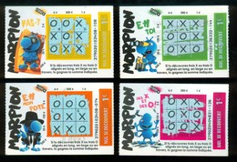 Grattage FDJ - FRANCAISE DES JEUX - Série Complète MORPION 37902 - Tickets Gagnants - Billets De Loterie