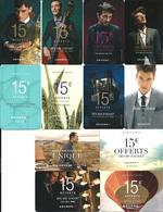 Carte Cadeau - Devred * 12 + 1 Free / Gratuite  -  GIFT CARD /GESCHENKKARTE - Gift Cards
