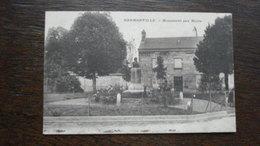 HERMONVILLE - MONUMENT AUX MORTS - Autres Communes