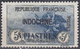 Indochine - Timbre De France (Orphelins) Surchargé - N° 95 Neuf Sans Charnière. - Indochine (1889-1945)