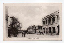 - CPA DJIBOUTI - Rue Du Port - Cliché G. B. - - Djibouti