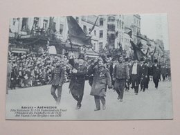 Vaderlandsch Feest / Het Vaandel Der Strijders Van 1830 ( Edit. Olympic / Ch. Du Houx ) 21/7/19 ( Zie/voir Photo ) ! - Antwerpen
