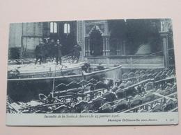 INCENDIE De La SCALA à Anvers Le 25 Janvier 1906 ( H. Climan ) - ( Zie/voir Photo ) ! - Antwerpen