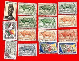 3372 -- CAMEROUM  --  Lot De Timbres; *  Et Oblitérés - Cameroun (1960-...)