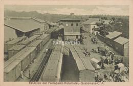 Guatemala RETALHULEU  Estacion Del Ferrocarril  Gu152 - Guatemala